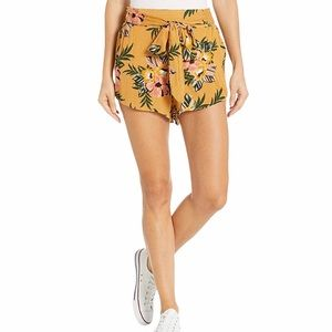 Ripcurl Yellow Floral Sunchaser Shorts Large
